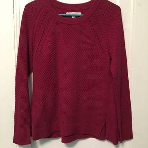 Red Loft Sweater